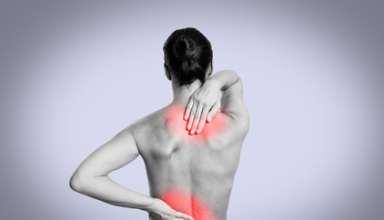 Schmerzzonen im Rücken