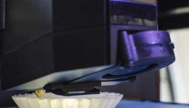 3D-Drucker druckt