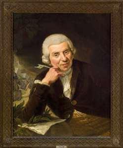Der Halberstädter Dichter und Sammler Johann Wilhelm Ludwig Gleim, gemalt von Johann Heinrich Ramberg im Jahr 1789. Foto: djd/Halberstadt Information