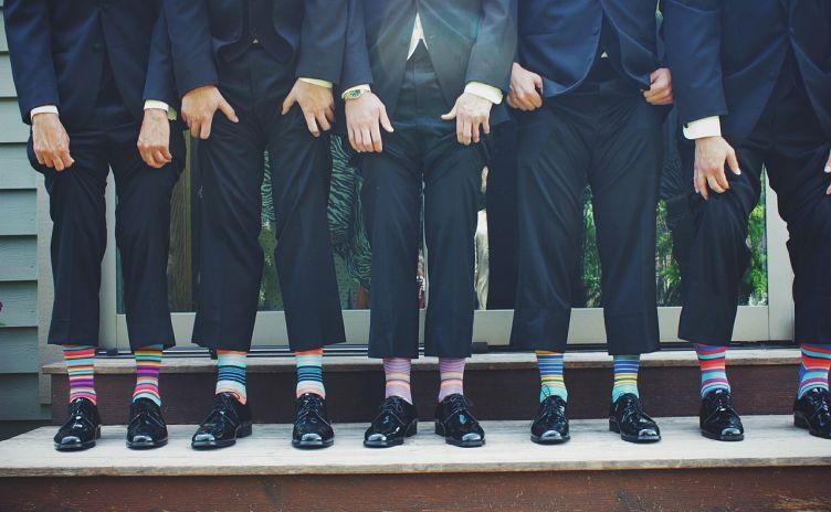Bunte Socken stärken das Ego